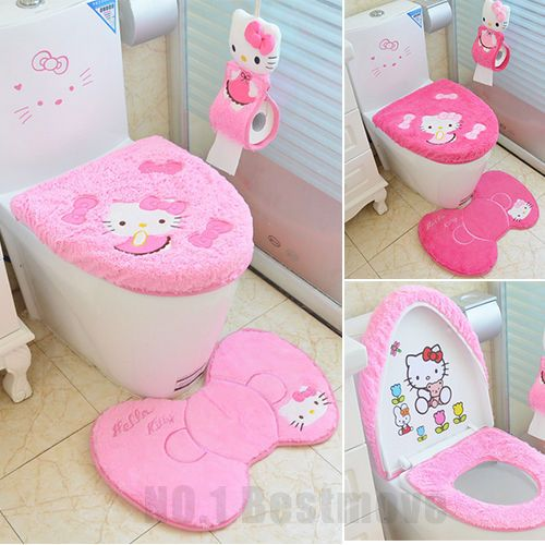 25 best ideas about hello kitty bathroom on pinterest hello kitty hello kitty stuff and. Black Bedroom Furniture Sets. Home Design Ideas