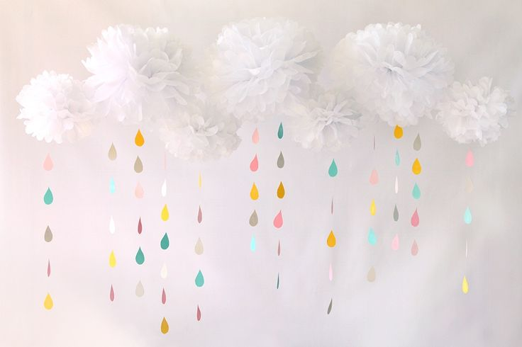 17 best ideas about baby shower balloons on pinterest for Cloud centerpieces