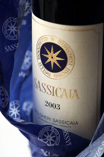Tenuta San Guido, Bolgheri Sassicaia, 2003, Toscana, Italy. Average Score : 91,61