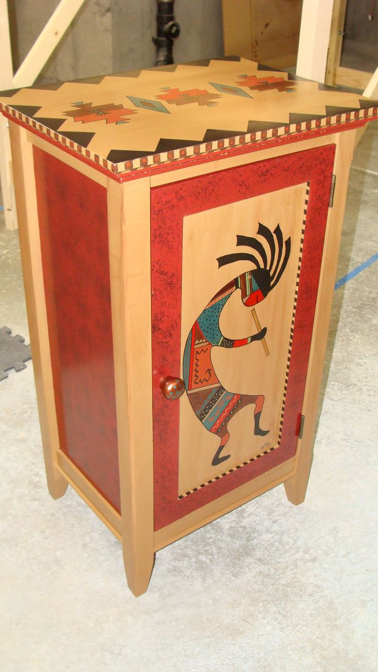47 best images about kokopelli is fun on pinterest quilt for Native american furniture designs