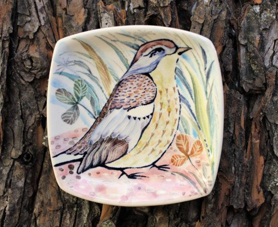 Hey, I found this really awesome Etsy listing at https://www.etsy.com/ru/listing/514803797/plate-decorative-bird