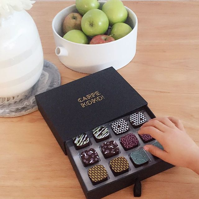 Resistance is futile with these amazing CARPE KOKO! chocolates around! Image from Instagram user @prettytidy_roshnee