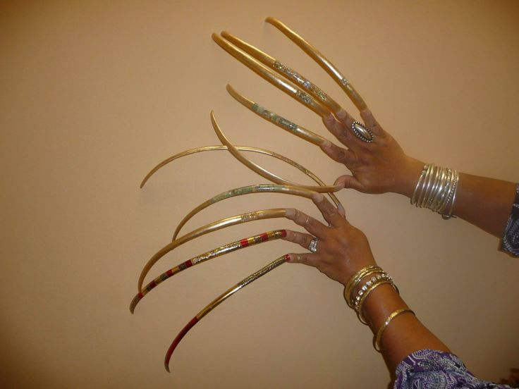20 best longest nails in the world images on Pinterest | Long nails ...