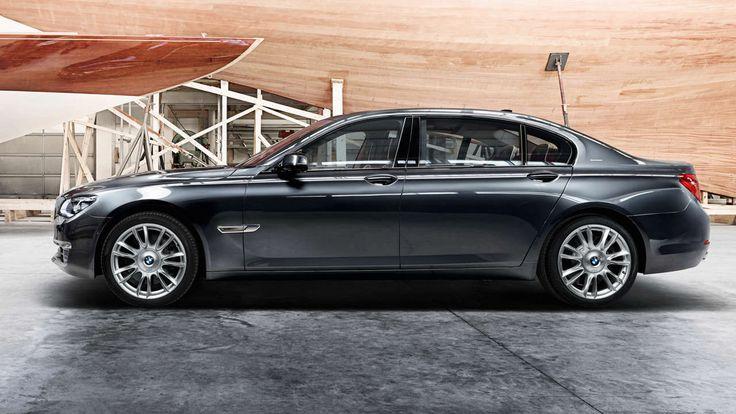 Der BMW 7er ist das Top-Modell in der Luxus-Klasse.