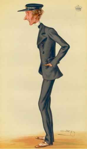 Earl Delawarr, 1879, Sailing, Vanity Fair