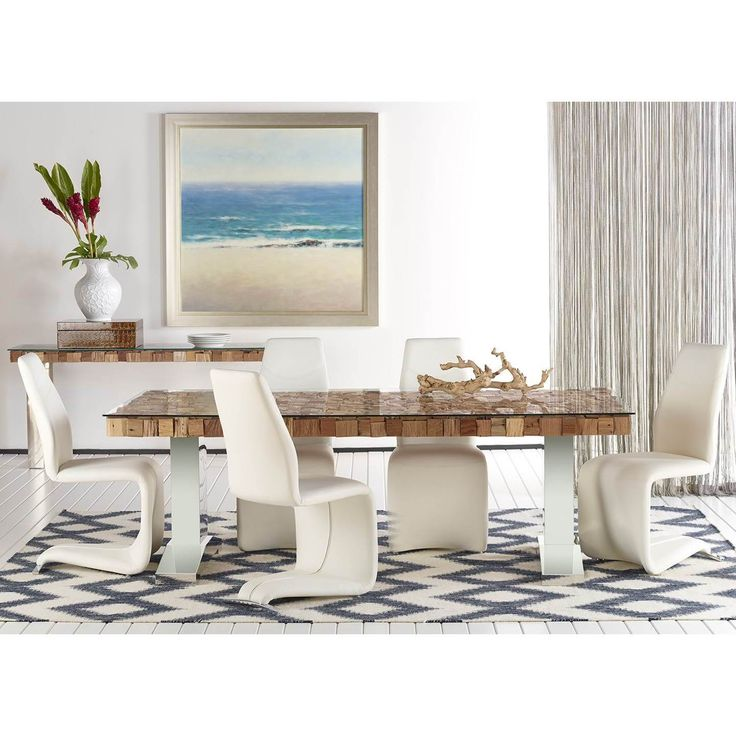 modern life aubree white chromefaux leather dining chairs set of 2 by modern life