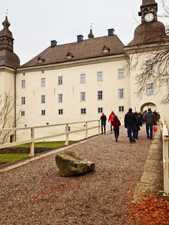 Ekenäs castle in Linköping Sweden. Travel photo by Katja Presnal