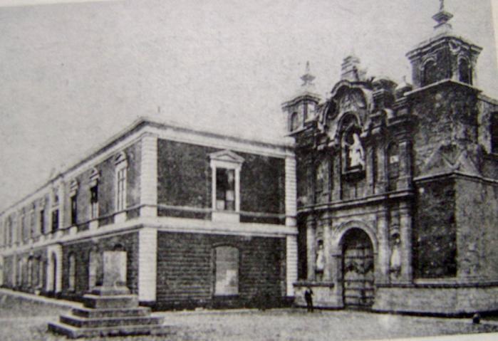 Convictorio de San Carlos, actual edificio de la Universidad San Marco