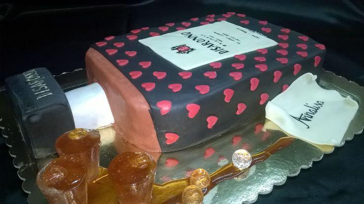 cake Disaronno 18th
