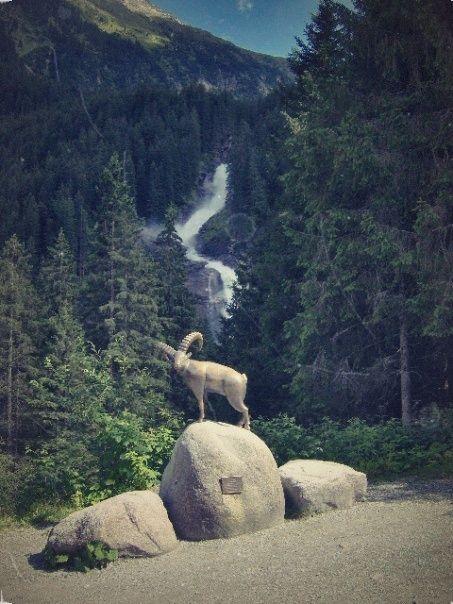 Krimmler Wasserfälle in Krimml, Salzburg