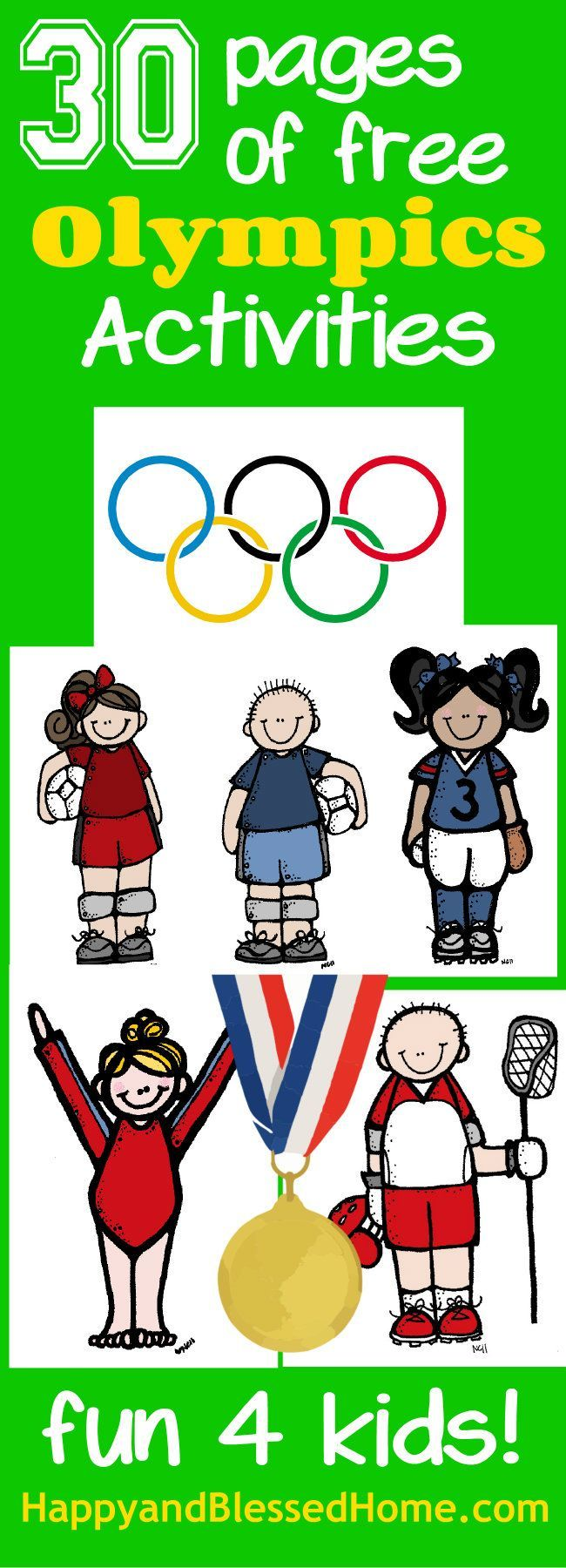 277 best Olympics Art & craft ideas for kids images on Pinterest ...