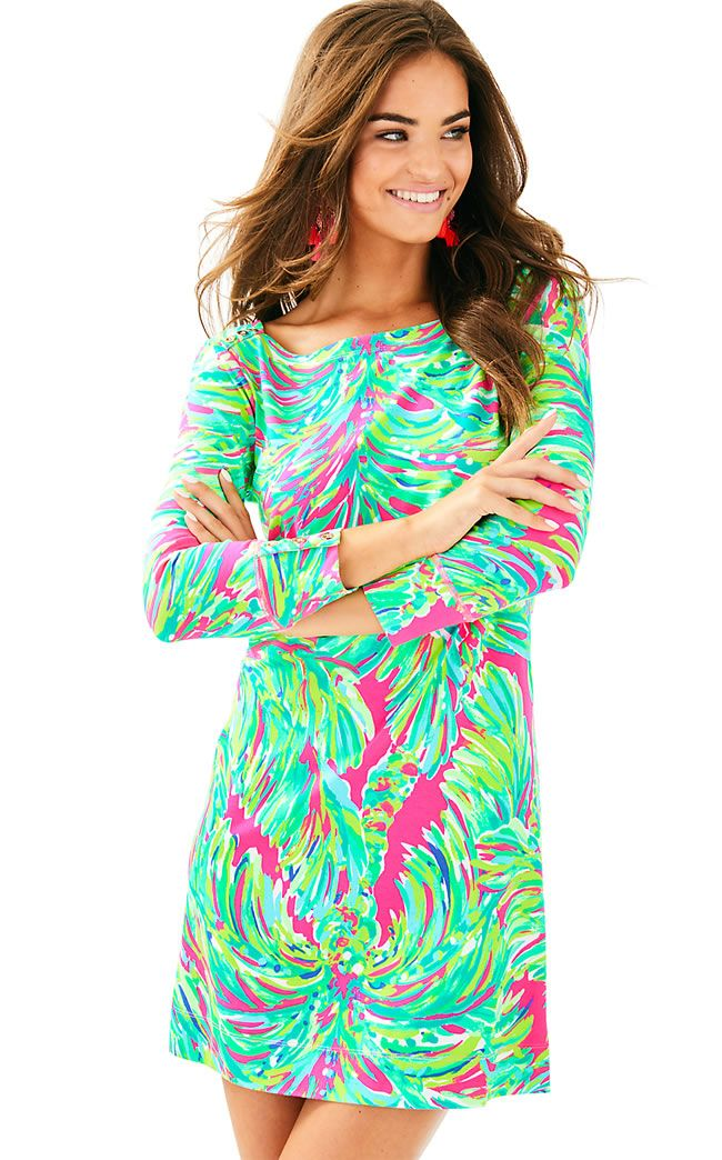 d6dfb95ed513f7 UPF 50+ SOPHIE DRESS - RAZ BERRY SHADY LADY from Ocean Palm and Lilly  Pulitzer