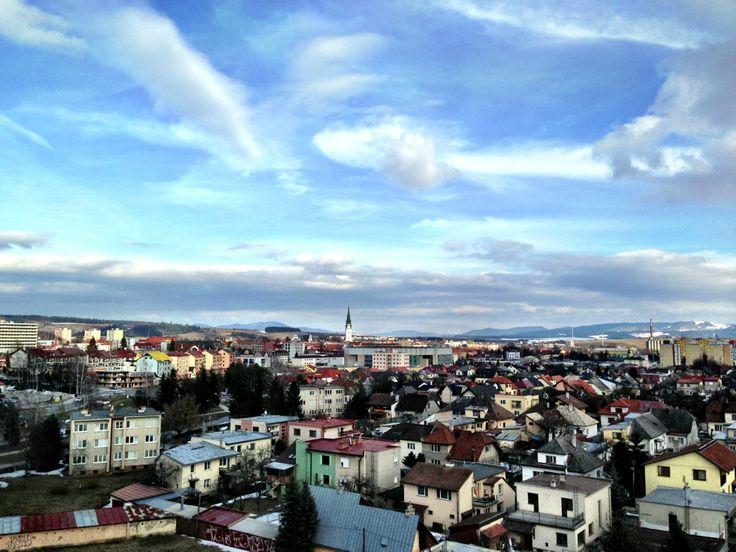 Spišská Nová Ves , город Slovakia Зимой
