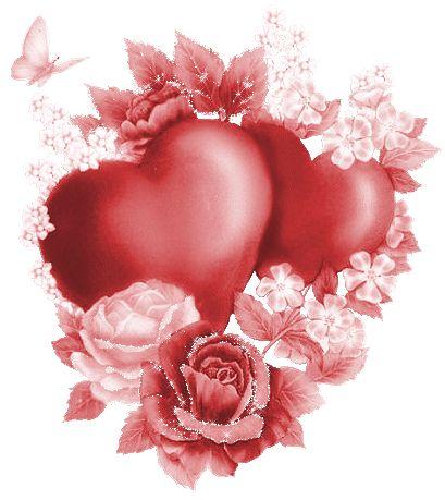 Beautiful Hearts Animated GIF | Immagini gif animate per la festa degli innamorati nel giorno di San ...