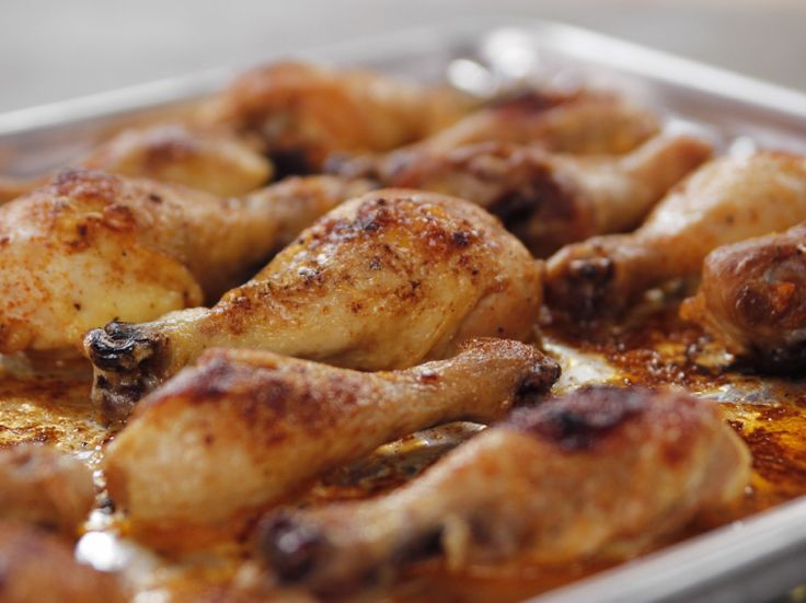 Get this all-star, easy-to-follow Spicy Roasted Chicken Legs recipe from Ree Drummond.