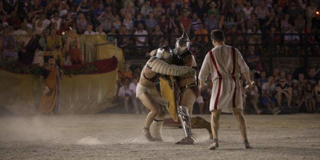 Gladiatoren-Shows in der Arena Pula – Termine 2017 - In Istrien