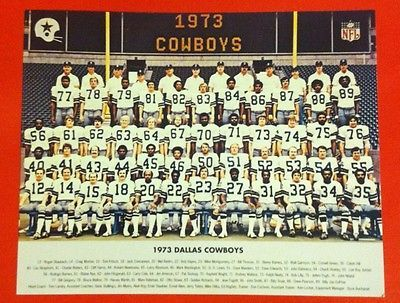 1973-DALLAS-COWBOYS-Team-Picture-Photo-pic-FIRST-ONE-TAKEN-IN-TEXAS-STADIUM