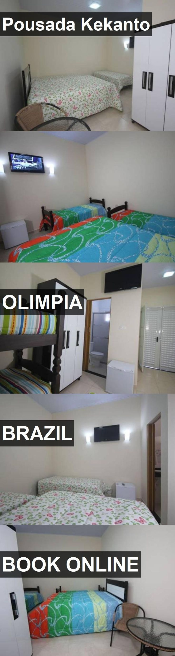 Hotel Pousada Kekanto in Olimpia, Brazil. For more information, photos, reviews and best prices please follow the link. #Brazil #Olimpia #PousadaKekanto #hotel #travel #vacation