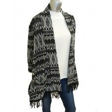 Filo Cardy with Fringe