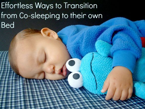 Effortless Ways to Transition from Co-sleeping to their own Bed :http://laborloveandlipstick.com/effortless-ways-to-transition-from-co-sleeping-to-their-own-bed/
