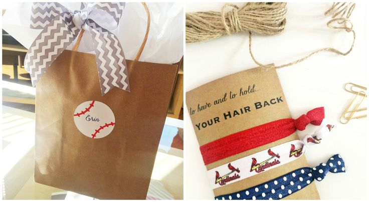 DIY Baseball Bachelorette Party - Mr. & Mrs. Wedding Events, St. Louis, MO                                                                                                                                                                                 More