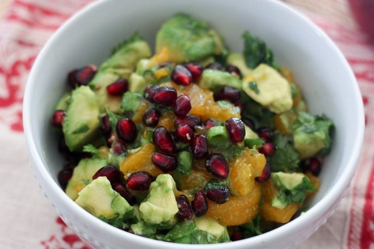 Avocado & Pomegranate Salsa | Recipe | Pomegranates ...