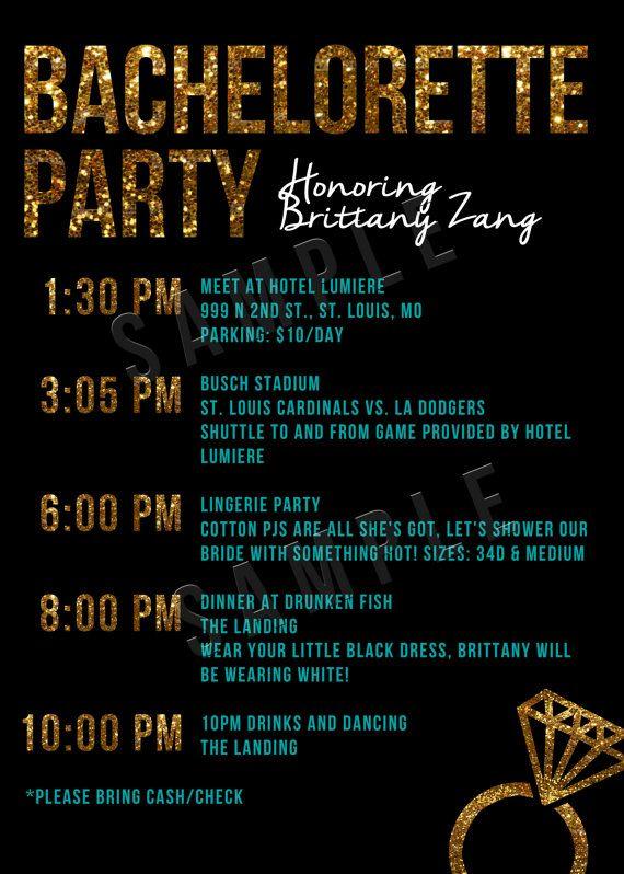 25 best ideas about Bachelorette party invitations – Bachelorette Party Invitation Ideas