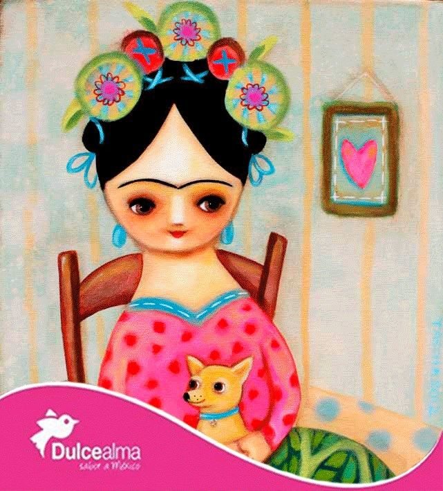 """Frida Kahlo: """"Pies, ¿para qué los quiero si tengo alas para volar?"""" #DulceDato"""