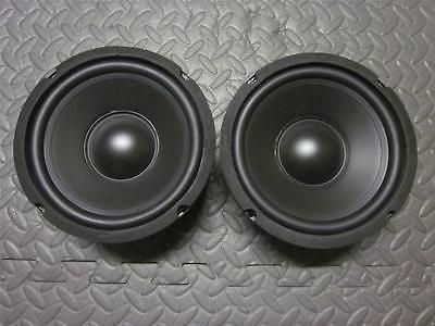 (2) 6.5 Woofer Speakers.Pair.8 Ohm.baby a40 Replacement.6-1/2.six half inch.