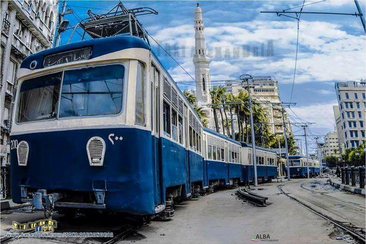Tram Alexandria Alexandria Egypt Quot Misr Quot Pinterest