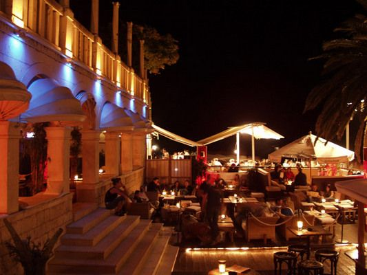 Carpe Diem- the most amazing club on the island of Hvar, Croatia. Best place I ever visited.