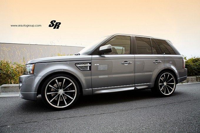 #RangeRover Sport on #Vossen CV1 22-Inch Wheels | Tuning & Special Series | Pinterest | Range ...