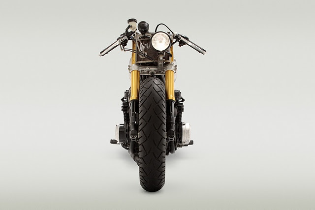 78 kz650 off-center headlight   bikes   pinterest   kustom and bobbers