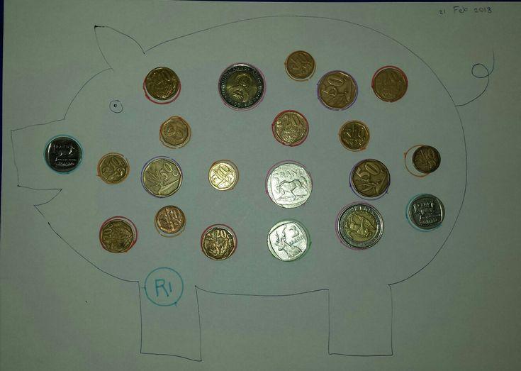 Enzo's piggy coin match