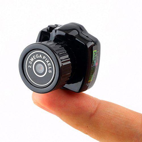 mini tragbare Kamera LESHP FULL HD 1280P versteckte Kamera mini nachhaltige V... http://amzn.to/2dOcfdK via @amazon #testsiegertips