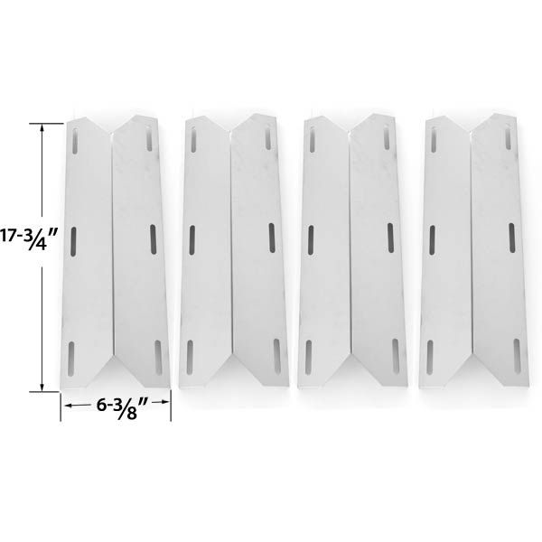jenn air 720 0061 price. 4 pack replacement stainless steel heat shield for jenn-air, nexgrill 681955, 720 jenn air 0061 price