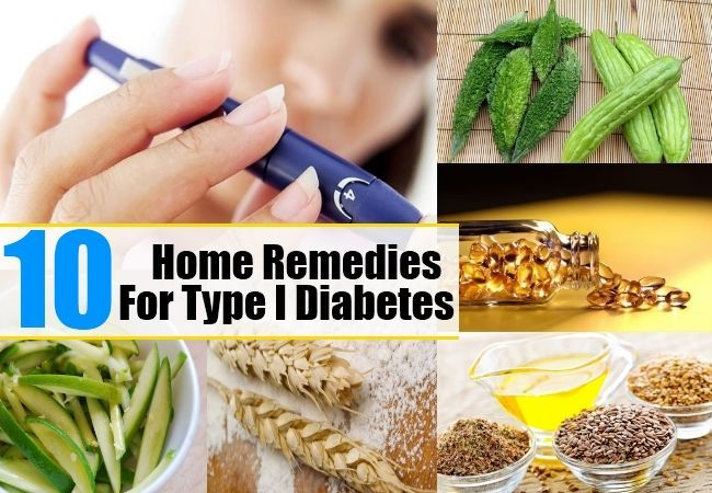 10 Home Remedies For Type I Diabetes