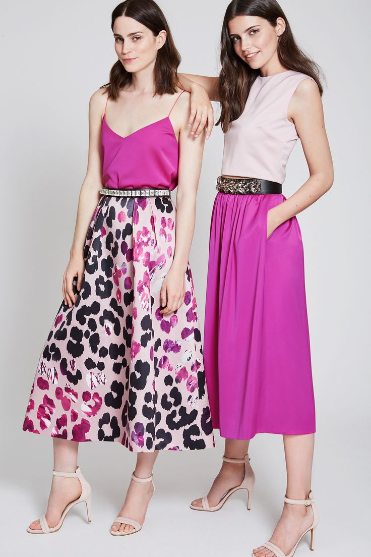 mix and match your perfect dress - flamingo pink lover - faded blush combo - leo print - fashionista