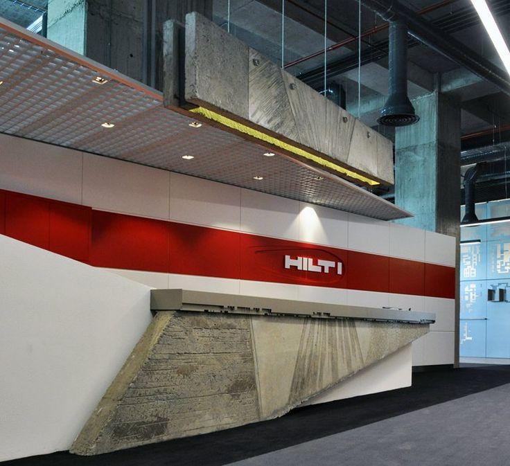 hilti-turkey-and-central-asia-headquarters reception desk