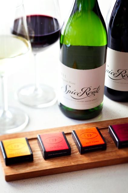 Wine and DV Artisan Chocolate pairing