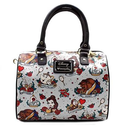 Disney Discovery- Beauty and The Beast Tattoo Bag
