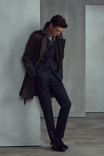 REISS AW17 Menswear Lookbook Look 1