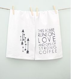 Make your own tea towels and give them as gifts this Christmas. Draw your favorite design, saying or monogram for really cute, personalized towels to throw on the stove. Supplies: - Tea Towels or Flour Sack Towels - Sharpie - A way to print on paper for tracing Wash and dry your tea towels, print …