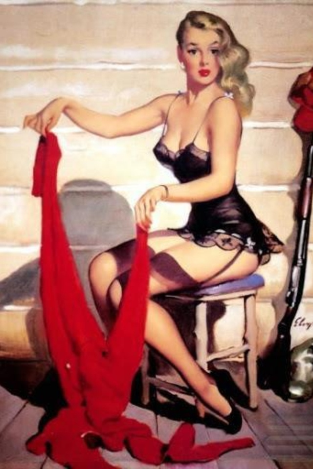 Gil elvgren pin up artwork pin up art by gil elvgren Sexy 30