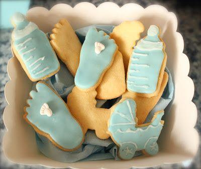 Kekse für die Babyparty