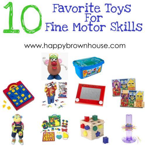 10 Favorite Toys for Fine Motor Skills