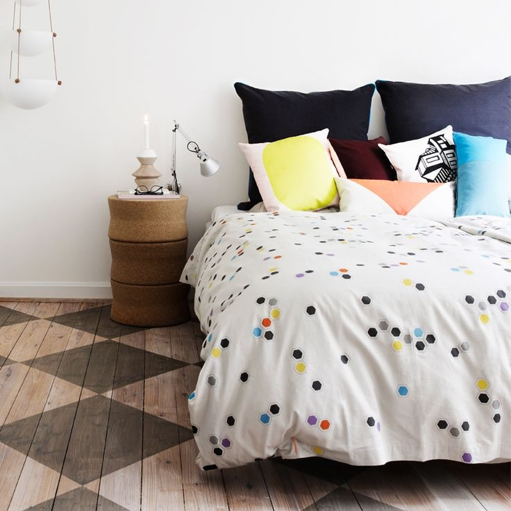 Honeycomb bed linen from Oyoy Living Design