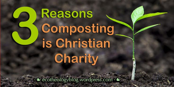 #ecotheology #compost #Christian #Charity https://ecotheologyblog.wordpress.com/2016/03/05/heart-and-soil-3-reasons-compost-is-christian-charity/