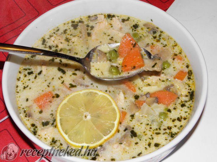 Kipróbált Tejszínes, tárkonyos csirkeragu leves recept egyenesen a Receptneked.hu gyűjteményéből. Küldte: LigetiK