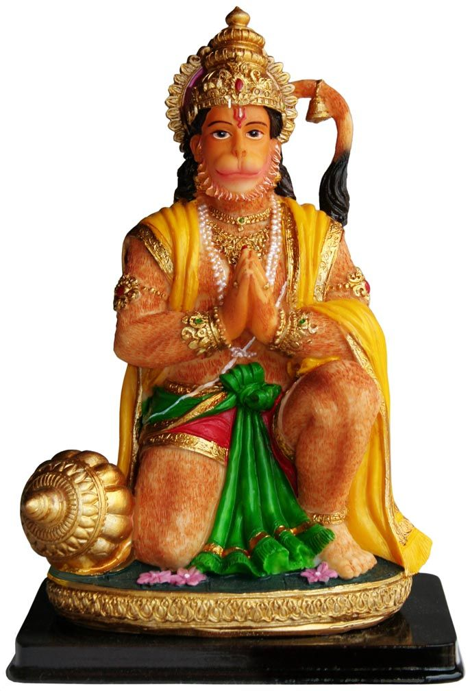 "Kneeling Hanuman 7"""